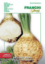 1000 Semi/Seeds SEDANO RAPA Bianco Del Veneto