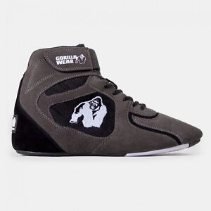 Gorilla-Wear-Chicago-High-Tops-Gray-Black-034-Limited-Edition-034