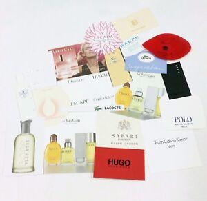 20-x-Duftkarten-20-x-perfumed-card-20-x-carte-parfumee-LOT-009