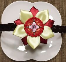 US Seller Traditional Korean Hanbok Ribbon Headband Hair Accessory Handmade