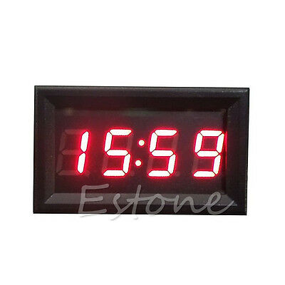 Car Motorcycle Accessory 12V/24V Dashboard LED Display Digital Clock Hot Sale