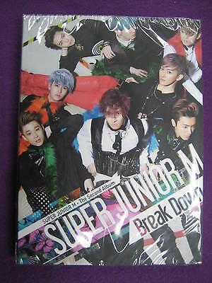 $2.99 Ship K-POP SUPER JUNIOR M Sealed 2nd Album CD Break Down