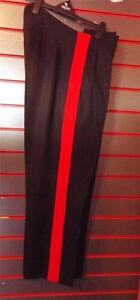 No1-Uniform-Trousers-SCOTS-REME-RE-RCS-RLC-Signals-Mess-dress-2-034-Red-Stripe