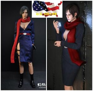 16 Carla Radames Ada Wong Resident Evil 6 Clothes For Hot Toys