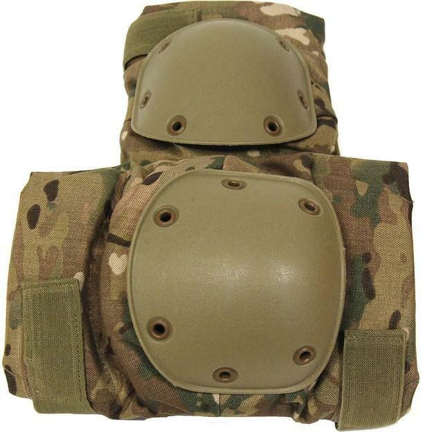 Pro-Force HMTC Hard shell Knee Knee Knee Pads - Multcam Camo Military Airsoft efe979