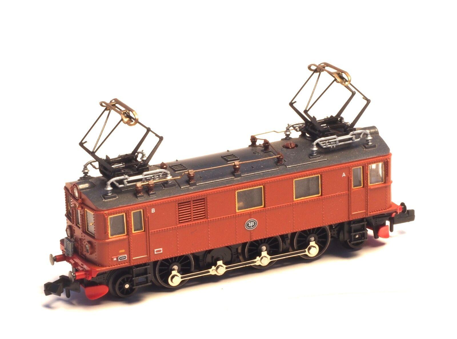 N-escala 7368 Fleischmann Eléctrico Loco SJ, clase du 2 Suecia, sueco RR
