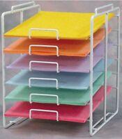 8.5 X 11 Inch 6-tier Scrapbook Paper Rack Display