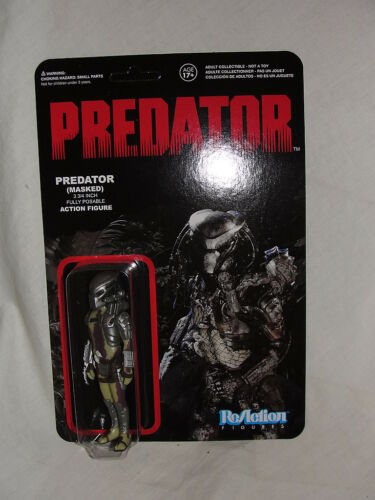 Funko Super7 ReAction Masked Predator Action FigureNew