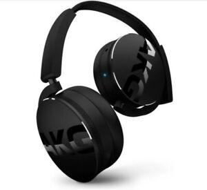 New Akg Y50 Y50bt Black On Ear Bluetooth Headphones Harman Reduced Price Ebay