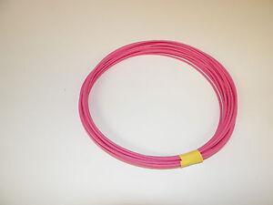 18 Ga. PINK Abrasion-Resis<wbr/>tant General Purpose Wire (GXL) - (50 feet coil)