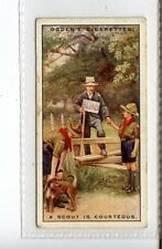 (Jc3333-100)  OGDENS,BOY SCOUTS,A SCOUT IS COURTEOUS,1929,#19