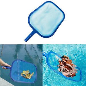Heavy-Duty-Leaf-Rake-Mesh-Frame-Net-Skimmer-Cleaner-Swimming-Pool-Spa-Tool-WKQ