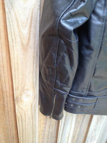 Leather Motorcycle Jacket Motorbiker Rider Touring Protection Bike Jacket