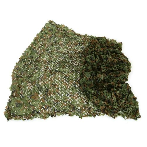 4x6m Woodland Camouflage Camo Net Cover Camping Military Hunting Netting Hunting
