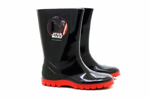 Disney Boys Official Star Wars Wellies Rain Snow Boots
