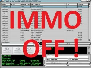 Details about IMMO SERVICE TOOL v1 2 IMMO KEY PIN CODE CALCULATOR BSI VDO  DASHBOARD 2017