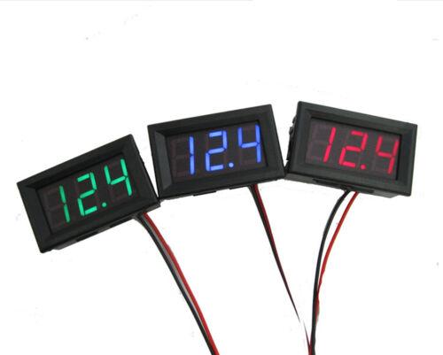 DC 0-30V 3 wire LED digital display panel volt meter voltage voltmeter car-m DO