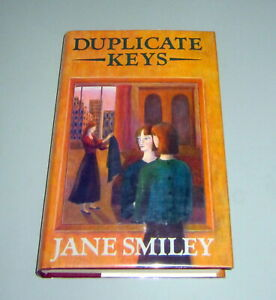 SIGNED-by-JANE-SMILEY-1984-First-Edition-DUPLICATE-KEYS-NEW-YORK-MURDER-THRILLER