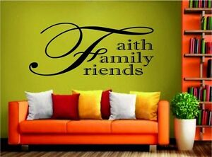 FAITH-FAMILY-FRIENDS-living-room-kitchen-wall-sticker-decal-4SIZES-MANY-COLOURS