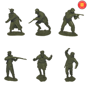 Publius jouet soldat guerre mondiale deux armée rouge La Defense de Stalingrad Scale 1/32 New