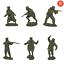 miniature 1 - Publius jouet soldat guerre mondiale deux armée rouge La Defense de Stalingrad Scale 1/32 New