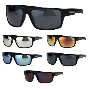 f4c8c25b7bb Image is loading Biohazard-Mens-Rectangular-Skater-Warp-Sport-Plastic- Sunglasses