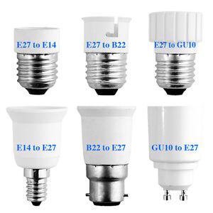 Image Is Loading E27 Gu10 E14 B22 Led Lights Lamp Base