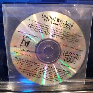 Details about Leathal Wreckords Sampler CD feat  Blaze Ya Dead Homie Tech  N9ne King Gordy D12