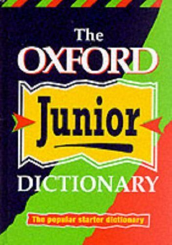 1 of 1 - The Oxford Junior Dictionary By Rosemary Sansome,Dee Reid,Alan Spooner