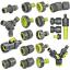 Tuyau-Embrayage-Reparator-Tuyau-Connecteur-hahnanschlus-1-2-034-3-4-034-1-034-Bradas miniature 1
