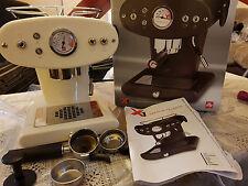 Illy Francis Francis X1 2 Cups Espresso Machine - Cream