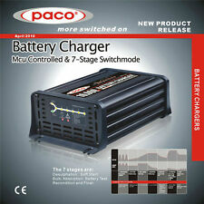 12V 10A Connect and Forget Leisure Battery Charger   Caravan   Motorhome   Boat