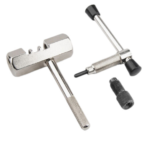 Bicycle Bike Chain Rivet Extractor Pin Rivet Splitter Breaker Remover Tool LA