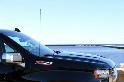"""31/"""" Black Spring Stainless AM//FM Antenna Mast 2000-2005 Ford EXCURSION"""