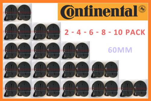 NEW BULK Continental RACE 28 700c x 18-25 60mm Stem Presta Valve Road Bike Tube