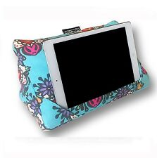Coz-e-Reader Tablet Stand Pillow Popsicle iPad Cushion Wipe Clean Floral Gift