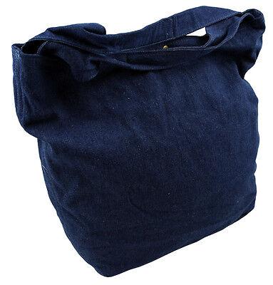 Western Speicher Jeans Shopper Tasche Beutel Blau
