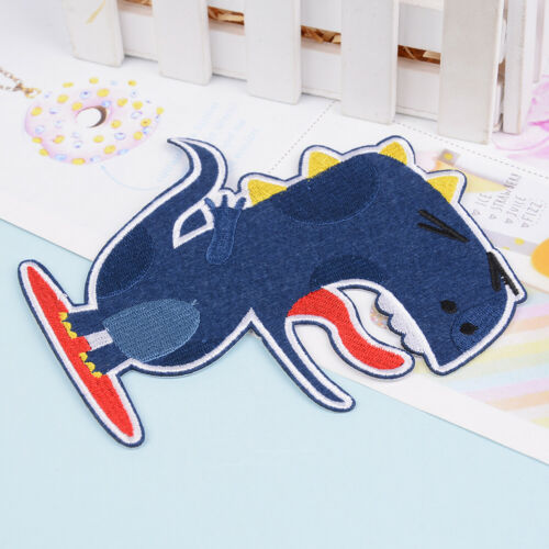 dinosaur patches sew fabric sticker badge embroidered iron on patch diyDS