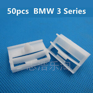 50x-BMW-3-Series-E36-E46-E90-E91-Side-Skirt-Trim-Clips-Sill-Moilding-Clips
