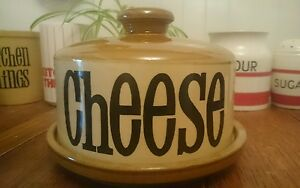 Vintage-T-G-Green-Granville-Large-Domed-Covered-Cheese-Bell-Dish-VGC