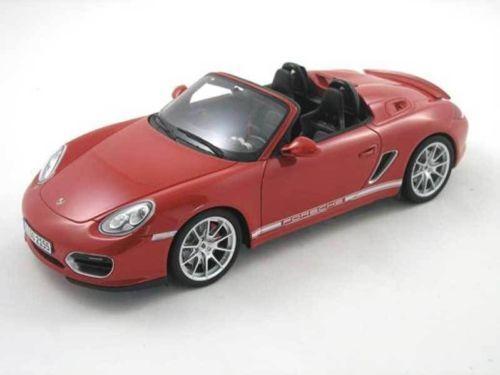 1 18 Gt Spirit  Gt017a Porsche Boxster Spyder Red Limited Edition