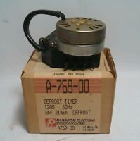 NOS Paragon Defrost Timer A-769-00 A769-00 CC351 Building Supplies
