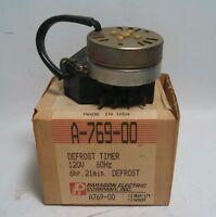 NOS Paragon Defrost Timer A-769-00 A769-00 CC351