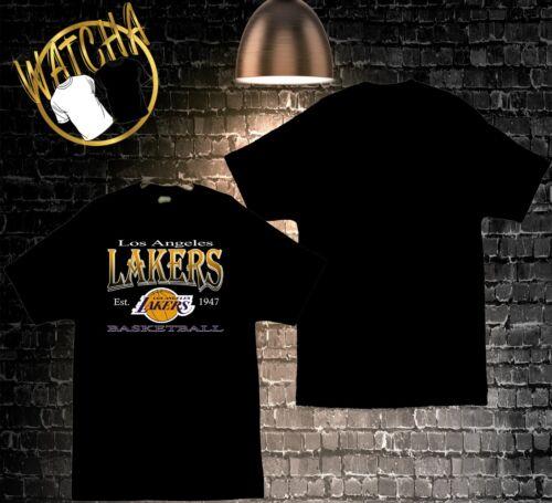 Los Angeles Lakers Est 1947 Image Men/'s T-Shirts