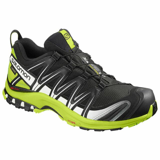 tavata alhaisin alennus pistorasia Running Shoes Mountain Trail salomon Xa pro 3D GTX Black Lime