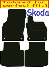Skoda Superb Tailored car mats ** Deluxe Quality ** 2017 2016 2015