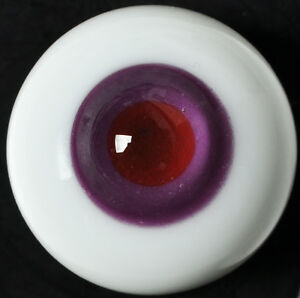 Nice 18mm Glass BJD Eyes for Reborn//NewBorn BJD Doll Pink Iris/&Pupil