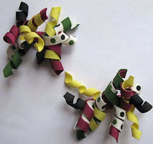 Gymboree Curly Curlies Hair Accessories Barrette Pairs Your Choice 2010-11 NEW