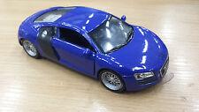 blu modello di auto Luce e suono 1:32 giocattolo pressofusione automobile regalo