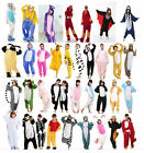 Adult Flannel Unisex Onesies Kigurumi Animal Pajamas Cosplay Costume Sleepwea